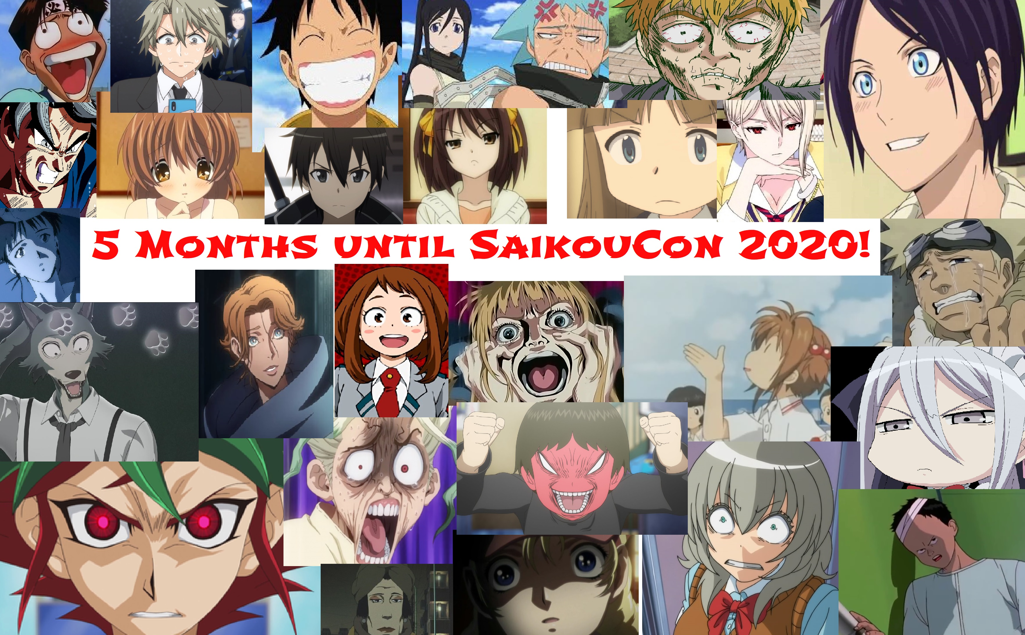 5 Months until SaikouCon 2020