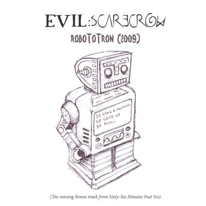 Tastes Like Rock - Evil Scarecrow - Robototron 09