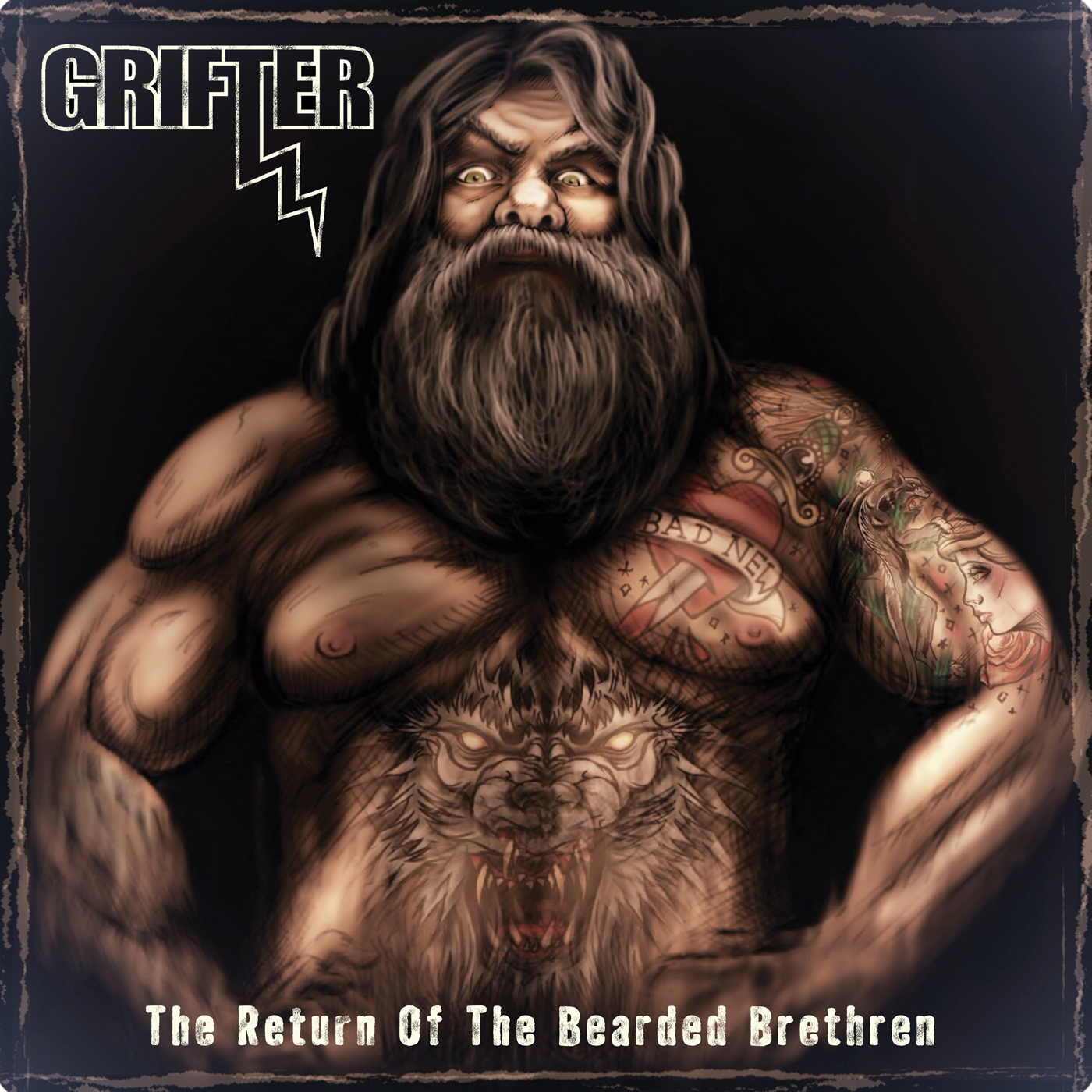 Tastes Like Rock - Grifter - The Return of The Bearded Brethren Review
