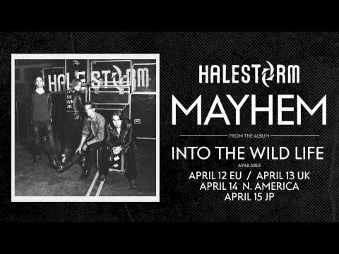 Tastes Like Rock - Halestorm - Mayhem Review