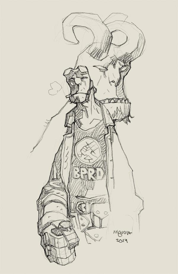 Hellboy-BPRD1-MikeMignolaVariantCover