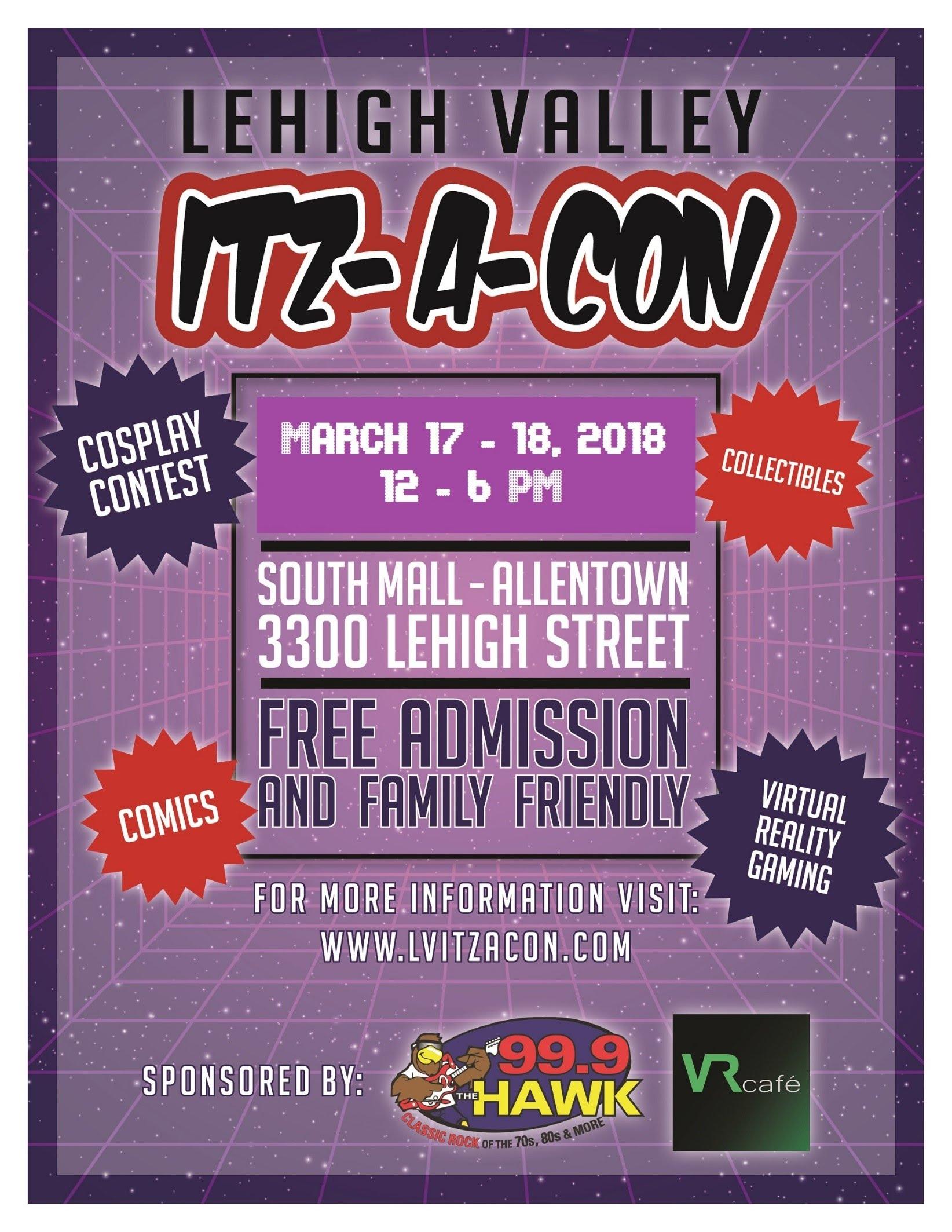Lehigh Valley Itz-A-Con 2018