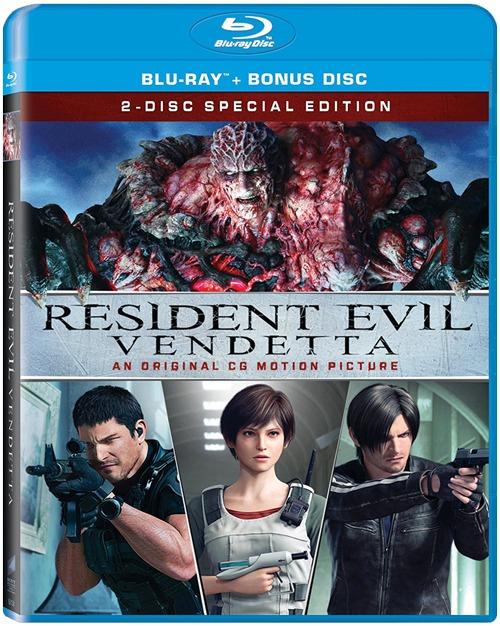 SaikouCon 2017 Sponsor Resident Evil Vendetta Special Edition Blu Ray
