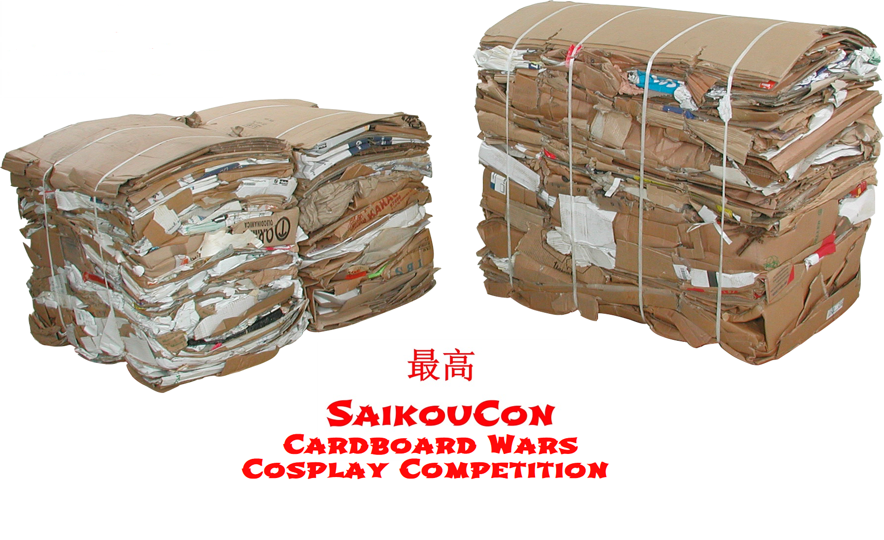 SaikouCon Cardboard Wars Cosplay Competition