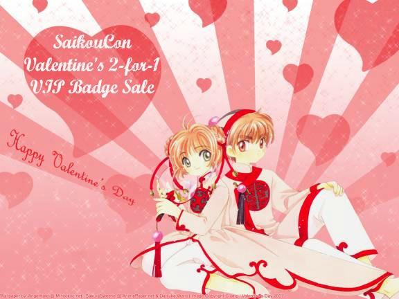 SaikouCon Valentines BOGO